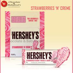 Hershey's Strawberry N Cream Chocolate Bar 24pcs Box