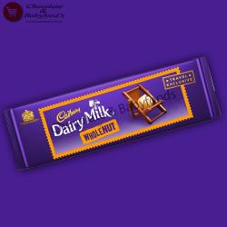 Cadbury Dairy Milk Whole Nut Chocolate Bar 300g