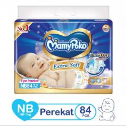 Mamy Poko Extra Dry New Born (Belt System)