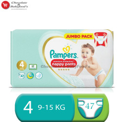 Pampers Premium Protection Nappy Pants Size 4