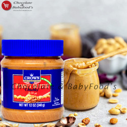 Crown Peanut Butter Chunky 340g