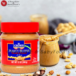 Crown Peanut Butter Smooth & Creamy 340g