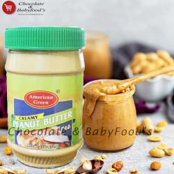American Green Creamy Peanut Butter Sugar Free 510g