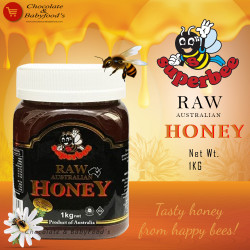 Superbee Raw Australian Honey 1kg