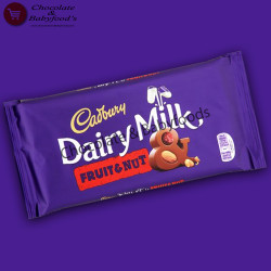 Cadbury Fruit & Nut Chocolate Bar 200 gm