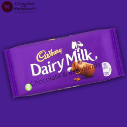 Cadbury Dairy Milk Chocolate bars 200g