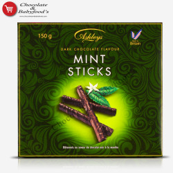 Ashleys Dark Chocolate Mint Sticks 150g