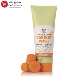 The Body Shop Carrot Wash Energising Face Cleanser 100ml