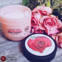 The Body Shop British Rose Body Yogurt 200ml