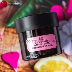 The Body Shop British Rose Fresh Plumping Mask 75ml