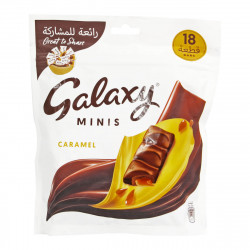 Galaxy Minis Caramel 252gm