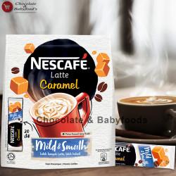 Nescafe Latte Caramel Mild & Smooth 20stik