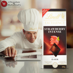 Lindt Excellence Dark Strawberry Intense  100g