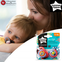 Tommee Tippee Fun Style Orthodontic Soother 6-18m