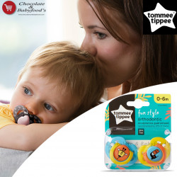Tommee Tippee Fun Style Orthodontic Soother 0-6m