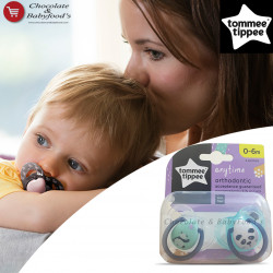 Tommee Tippee Anytime Orthodontic Soother 0-6m