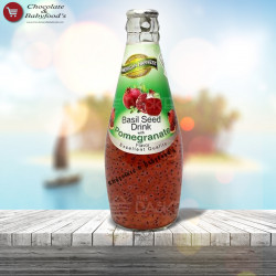 American Harvest Basil Seed Drink with Pomegranate