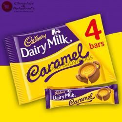 Cadbury Dairy Milk Caramel 4pcs 148g