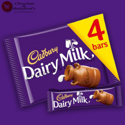 Cadbury Dairy Milk 4pcs 144g