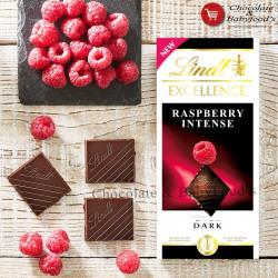 Lindt Excellence Raspberry Intense Dark 100g