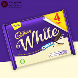 Cadbury White Oreo 4bars 164g