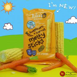Ella's Kitchen Sweetcorn + Carrot Melty sticks 16gm