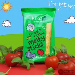 Ella's Kitchen Tomato+Basil Melty sticks 16gm