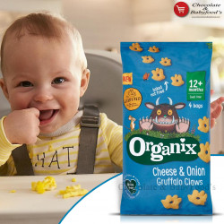 Organix Cheese & Onion Gruffalo Claws 60gm
