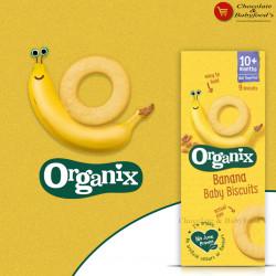 Organix Banana Baby Biscuits 10+