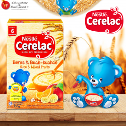 Nestle Cerelac Rice & Mixed Fruit 250g