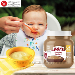 Heinz chocolate custard