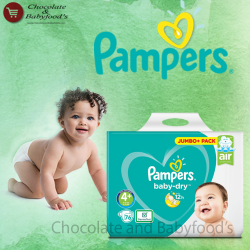 Pampers Jumbo pack Size- 4+