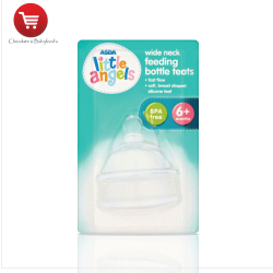 Little angels standard necks feeding bottle teats