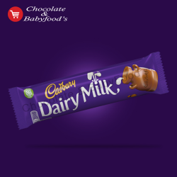 Cadbury Dairy milk chocolate bar  45 gm (Each)
