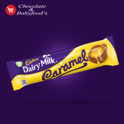 Cadbury Dairy milk Caramel chocolate bar  45 gm (Each)
