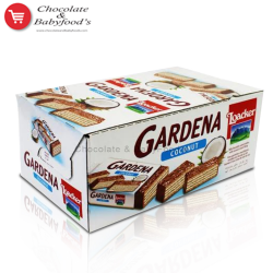 Loacker Gardena with Coconut 25 pc's Box