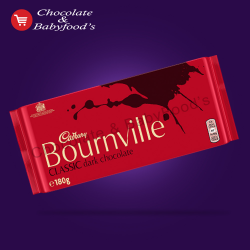 Cadbury bournville classic dark chocolate 180gm