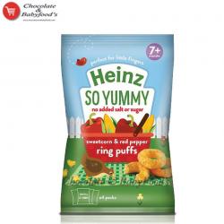 Heinz Sweet corn & Red pepper Ring Puffs 7+