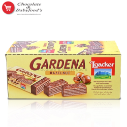 Loacker Gardena with Hazelnut 25 pc's Box