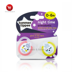 Tommee tippee night time orthodontic soother