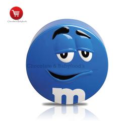 M&m's Tin Blue