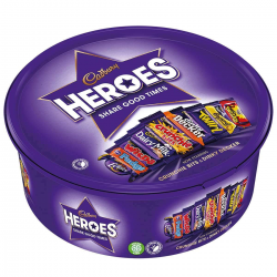 Cadbary Heroes Tub 614 gm