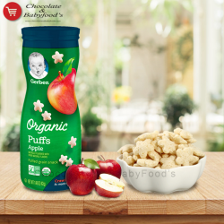 Gerber Organic Apple Puffs