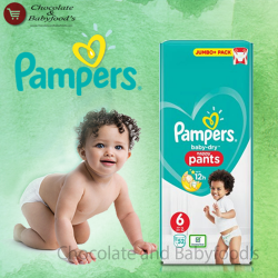 Pampers jumbo pack nappy pant-6
