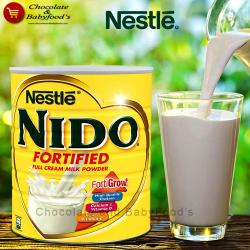 Nido fortified full cream milk powder 400gm