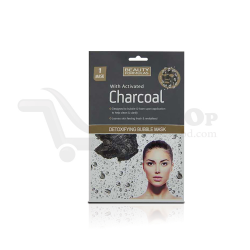 Beauty Formula with activated Charcoal Detoxifying Bubble Mask