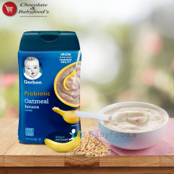 Gerber Probiotic Oatmeal Banana cereal