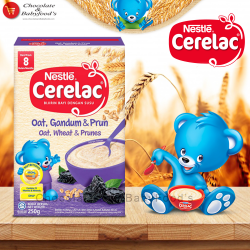 Nestle Cerelac Oat, Wheat & Prunes box 250 gm