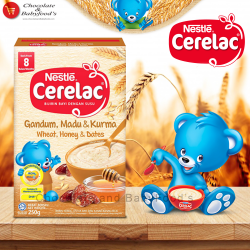 Nestle Cerelac Wheat, Honey & Dates 250 gm