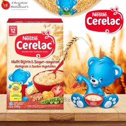 Nestle Cerelac Multigrain & Garden Vegetables 250 gm